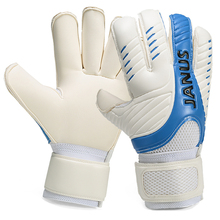 2017 Professional Soccer Goalkeeper Gloves Kids Men Thick Latex Football protecting sports activities security Goal keeper Breathable leather-based