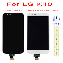 STARDE Replacement LCD For LG K10 LCD Display Touch Screen Digitizer Assembly Frame 5.3 laptop lcd display replacement for 13 3 dell inspiron 13 7348 7347 lcd screen touch digitizer component frame fhd