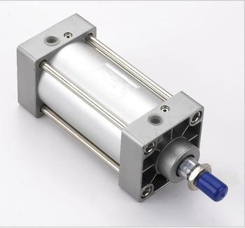 Tamaño del taladro 100mm * 100mm SC series material de aluminio cilindro de aire comprimido SC100 * 100