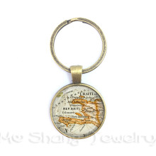 Buy globe keychain and get free shipping on aliexpress mschengdoris 2018 globe keychain world map keyring vintage gumiabroncs Image collections