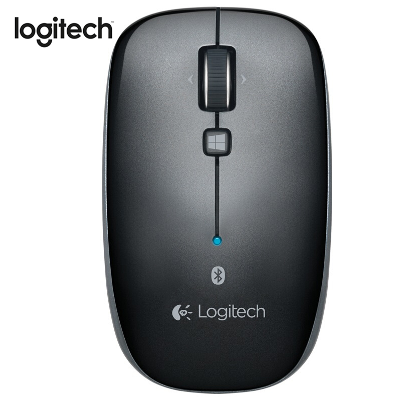 Logitech M557 Bluetooth Mouse Wireless Mouse With Ergonomic Mice 1000 DPI 2.4Ghz Wireless Designed For Office Home Working Mouse