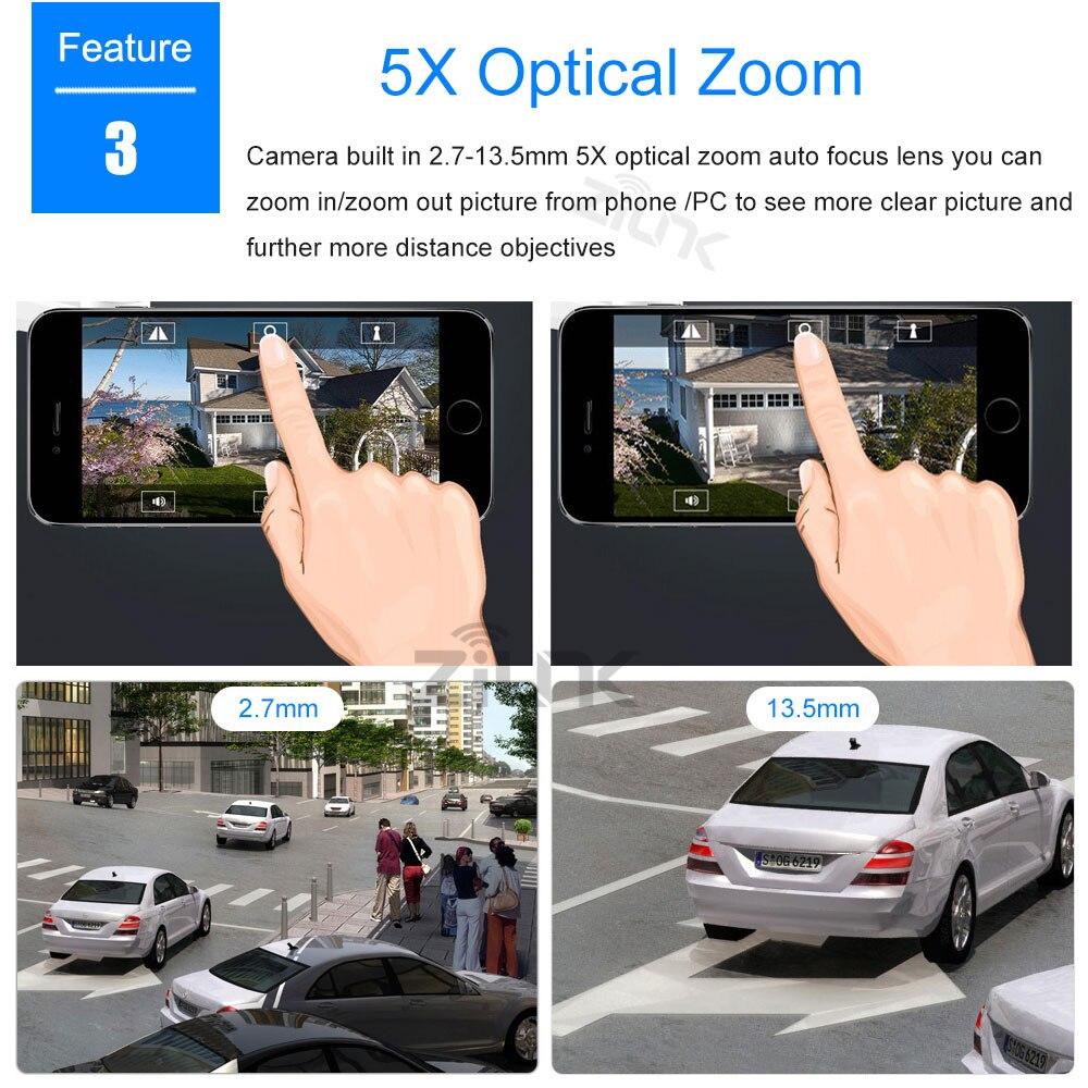 ZILNK Full HD 1080P Speed Dome IP-Kamera im Freien PTZ - Schutz und Sicherheit - Foto 3