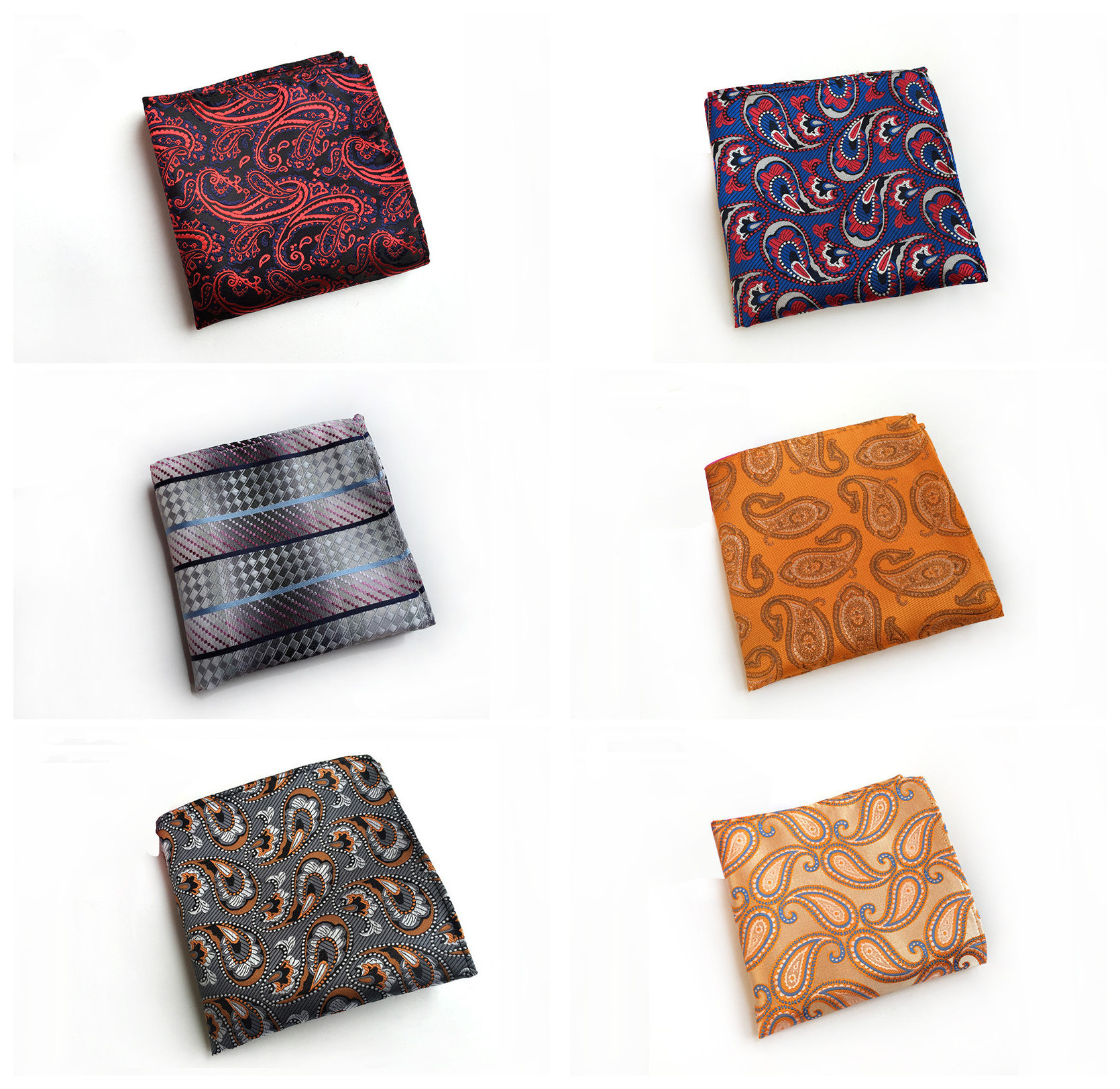 2020 Explosion Polyester Material Accessories Pocket Towel Quality Business Men's Simple Personality Handkerchief Pocket Towel