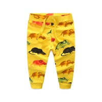 2018 New Spring Hot Sale 1 6 Years Cartoon Mouse Printed Pure Cotton Baby Pants Baby