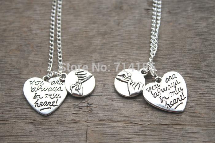 20pcs Lot Boyfriend Girlfriend Necklaces His Hers Couples