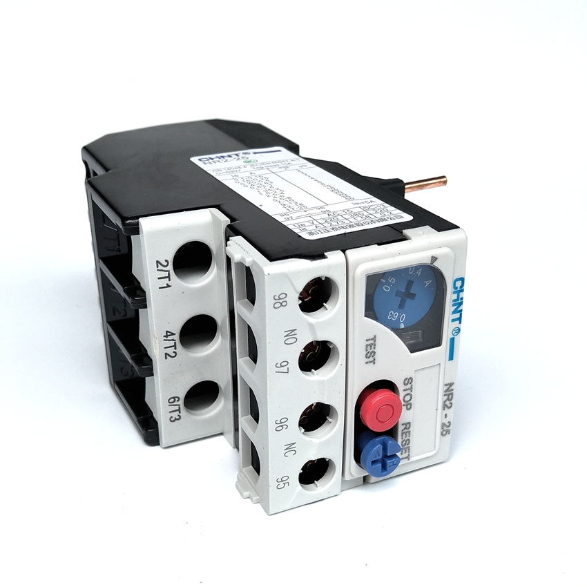 Chint NR2-25/Z 0.4-0.63A Thermal Overload Relay все цены