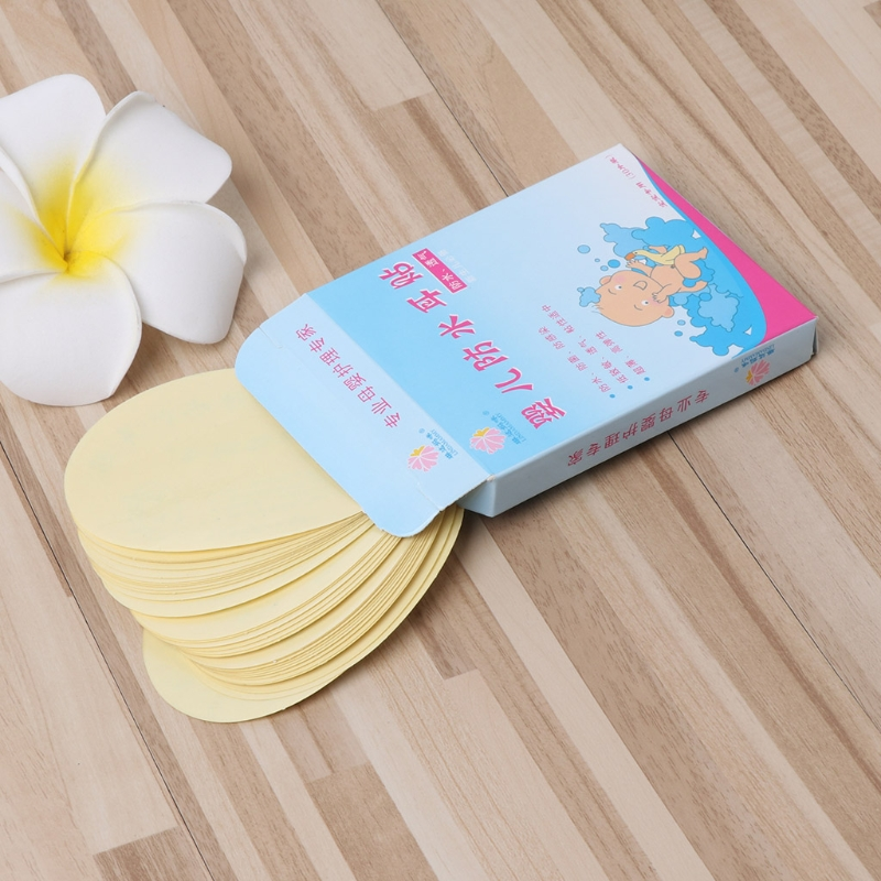 30 Pcs Baby Swimming Sticker Ears Care Bath Pool Waterproof Earplug Disposable