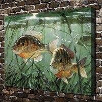 C X173 Undersea Tropical Fish Aquatic Animals HD Canvas Print Home Decoration Living Room Bedroom Wall