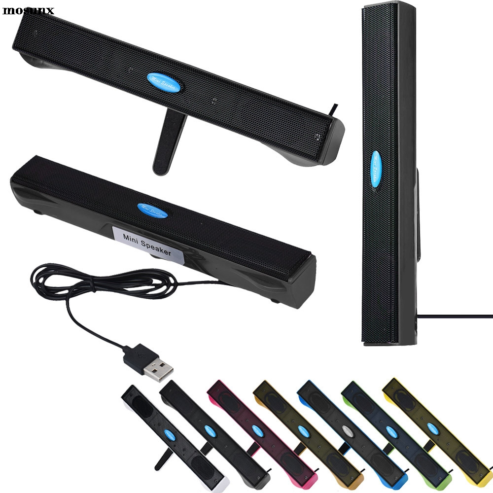 mosunx USB Mini Speaker Music Player for Computer Desktop PC Laptop Notebook Fashion Phone Speaker Drop Shipping