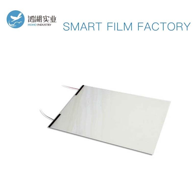 8 pièces 100*515mm blanc intelligent commutable Film de verre PDLC intelligent teinte Film pour fenêtre de voiture