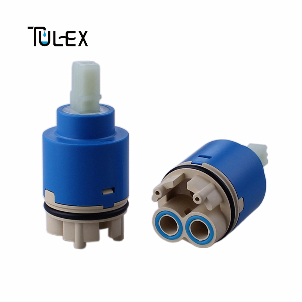 TUELX 35mm Faucet Valve Core Faucet Switch Replacement Part Mixer Cartridge With Distributor Bathroom Accessories