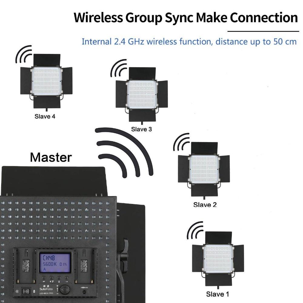 Pixel K80 Wireless LED-uri cu LED-uri 5600K cu transmisie wireless - Camera și fotografia - Fotografie 3