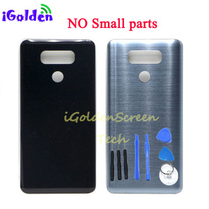 Image 3 - Tylna pokrywa dla Lg g6 pokrywa baterii obudowa drzwi obudowa z kamerą szklana soczewka identyfikator dotykowy zamiennik dla G6 LS993 US997 VS998 H870