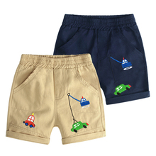2019 Summer Beach Baby Infant Boy Shorts Casual Embroidery Children Pants Trousers Clothing Elastic Waist Thin Kids cartoon printing toddler boy shorts summer children clothing casual cotton beach shorts elastic waist baby girls pants kids 2 7y