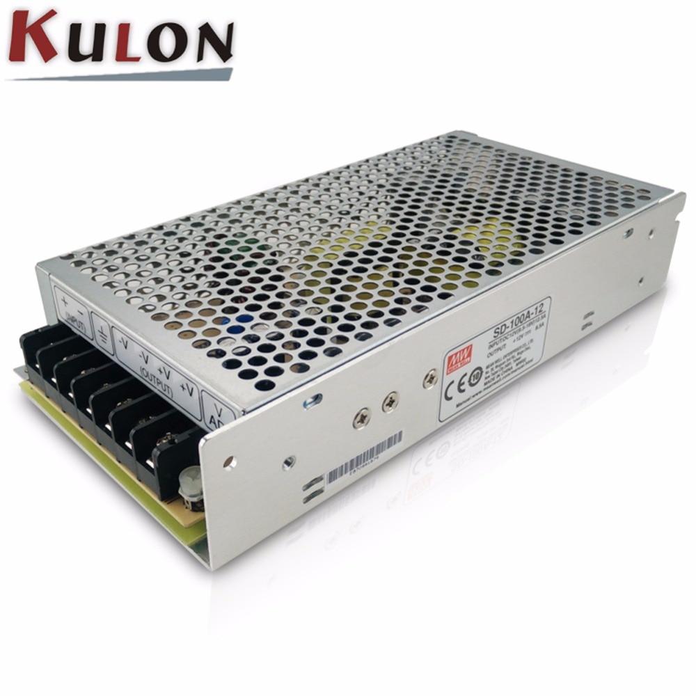 цена на Original MEAN WELL Input 72~144V to output 12V DC-DC converter SD-100A-12 Single Output 100W 8.5A 12V meanwell dc/dc converter