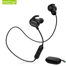 QCY QY19 combination sets sports earphone bluetooth BT V5.0 earbuds and portable storage box(China)
