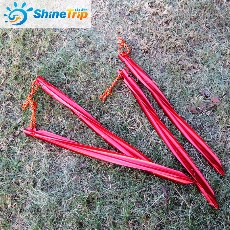 121208 10pcs Spiral Tent Stakes 25cm Aluminum Alloy Swirled Shape Tent Pegs with Pull Cords Tent Accessories Equipment-in Tent Accessories from Sports ... & 121208 10pcs Spiral Tent Stakes 25cm Aluminum Alloy Swirled Shape ...