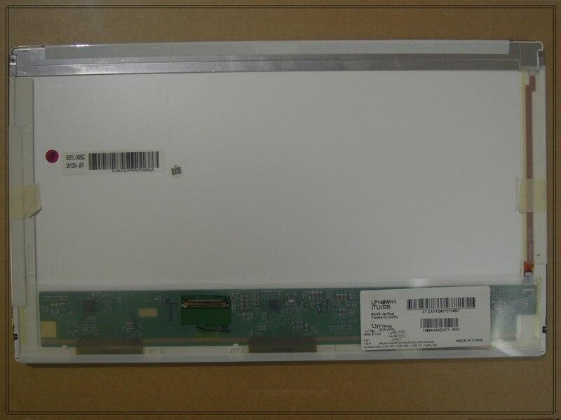 14 pouces Ordinateur Portable LED B140XW01 V.0 LP140WH1 TLA1 N140BGE-L11 1366*768 40PINS en bas à gauche pour HP Probook 4420 s