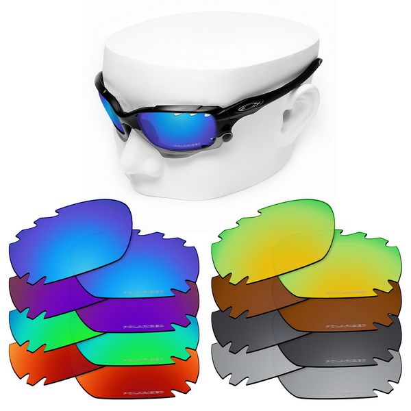 OOWLIT Anti-Scratch Replacement Lenses For-Oakley Jawbone Vented Etched Polarized Sunglasses