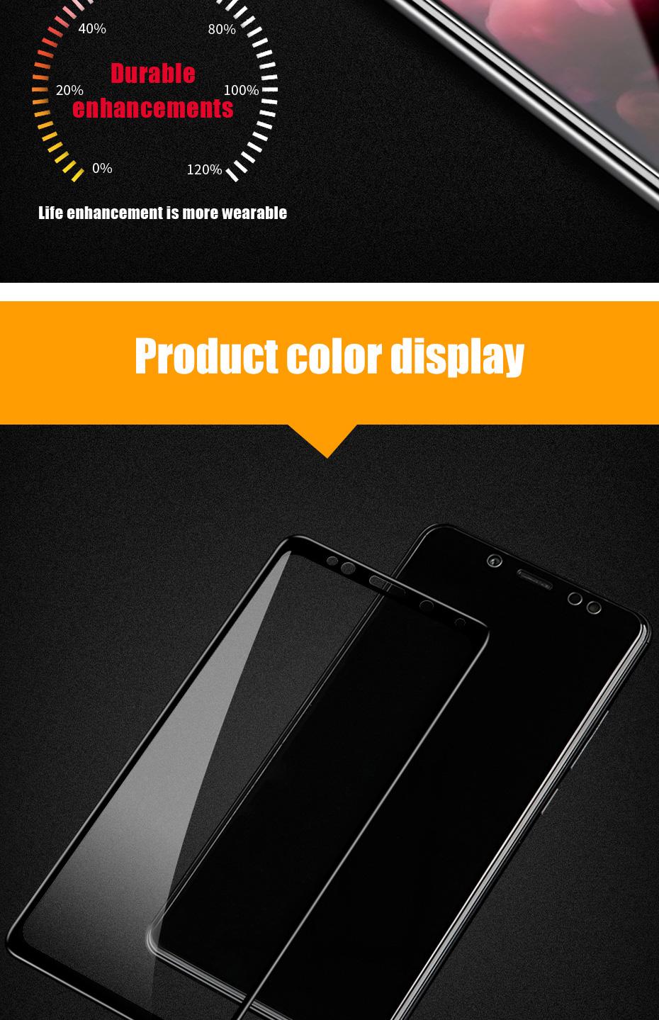 ZNP 5D Screen Protector Tempered Glass For Xiaomi Redmi Note 7 5 Pro Redmi 4X 7A 7 6 Protective Glass For Redmi 5 Plus k20 Film 9