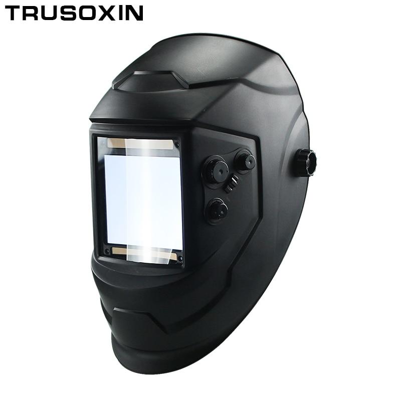 Big View Eara 4 Arc Sensor DIN5-DIN13 Solar Auto Darkening TIG MIG MMA Welding Mask/Helmet/Welder Cap/Face mask/Welder Goggles цена