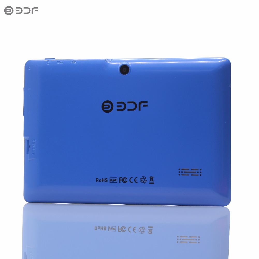 BDF 7 Inch A33 Quad-Core Tablet PC Android 4.4 Google 512+8GB Bluetooth WiFi FlashTablet PC Quad Core Q8 Tab 7 8 9