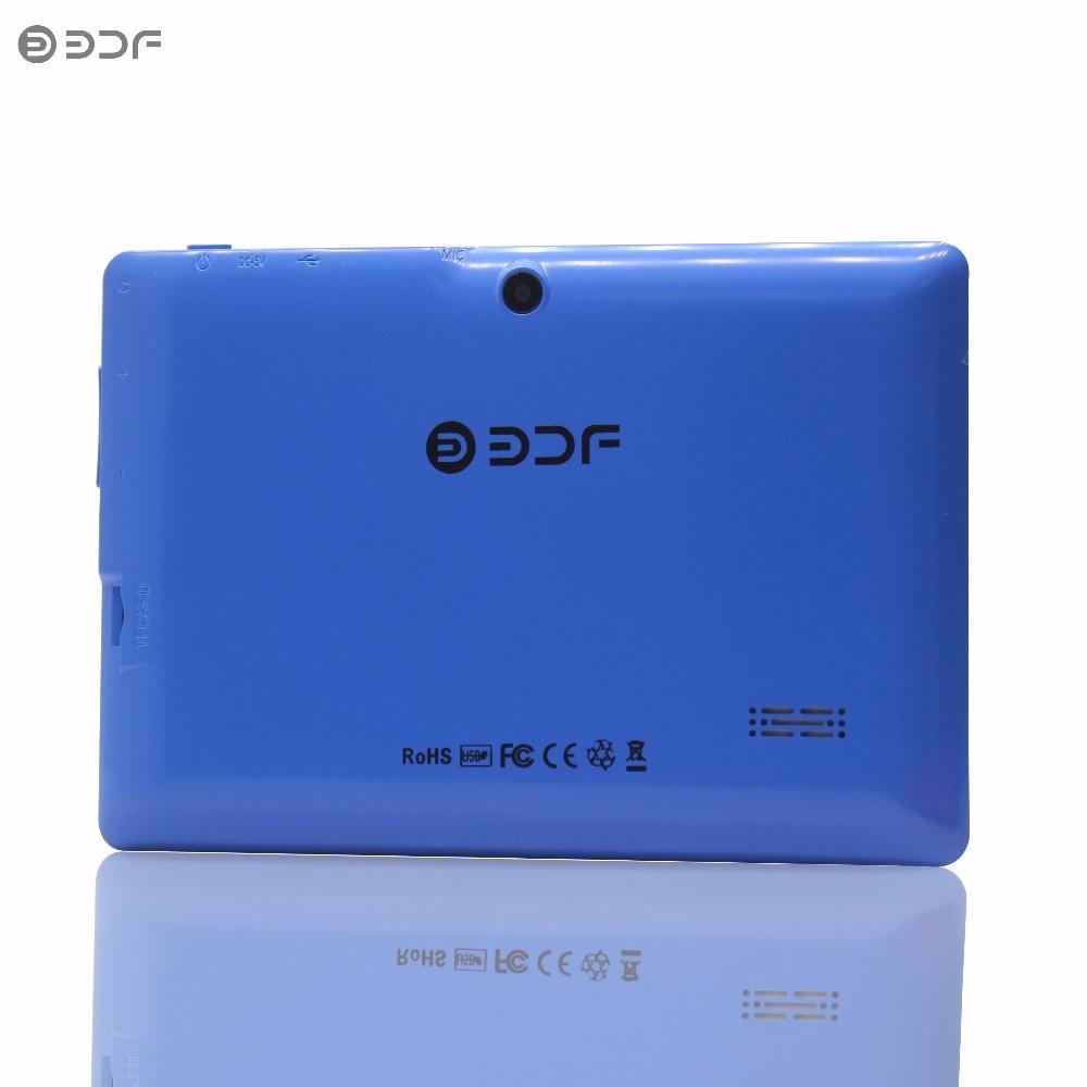 BDF 7 Inch A33 Quad-Core Tablet PC Android 4.4 Google 512+8GB Bluetooth WiFi FlashTablet PC Quad Core Q8 Tab 7 8 9