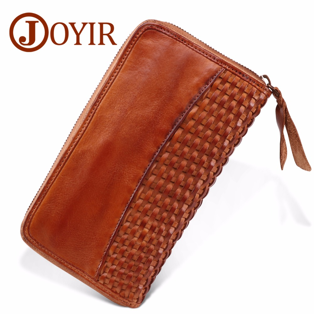 JOYIR Business Mens Brand Clutch Bags Luxury Cowhide Men Clutch Bag,Long Genuine Leather men wallets,Men Business Clutch Wallets 2018new men wallets luxury brand men wallet leather genuine cowhide men s clutch bags hot business casual purses man bag polo128
