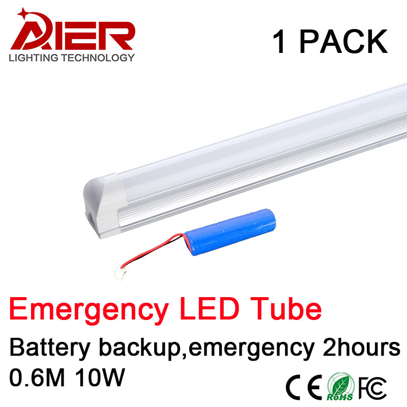 T8 10w Emergency Led Tube T8 Integrated 600mm 10w Battery Backup