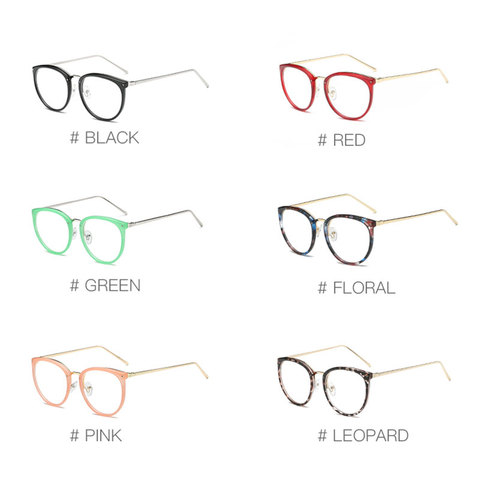 Fashion Optical Eyeglasses Frame myopia Full Rim Metal Women Spectacles Eye glasses Oculos de Grau Eyewear Prescription Eyewear Islamabad