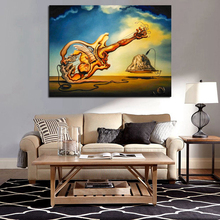 Surrealist Works Of Salvador Dali Canvas Painting Print Living Room Home Decoration Modern Wall Art Oil Picture Artwork