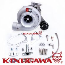 Kinugawa Turbocharger 4 T67-25G 8cm Oil-Cooled for SUBARU WRX STI