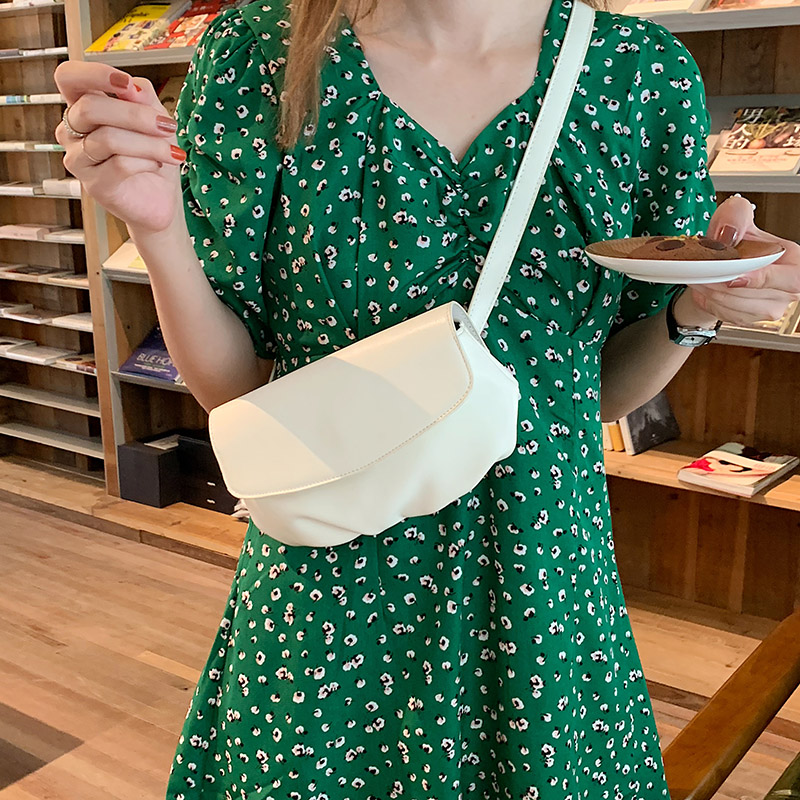 NEW Hobos Chest Bags Women Shoulder Handbag PU Leather Black White Khaki Small Flap Crossbody Bag Purse Feminina Bolsos Mujer