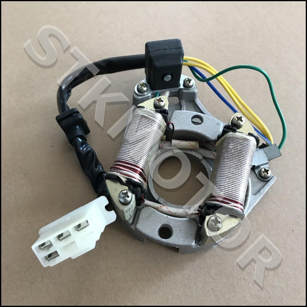 4 Wires 50cc 70cc 90cc 110cc Atv Dirt Bike Go Kart Stator
