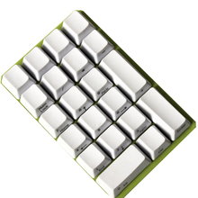 Thick PBT Blank Mechanical-Keyboard-Numpad Abs Keycap YMDK Mx-Switches Side-Printed