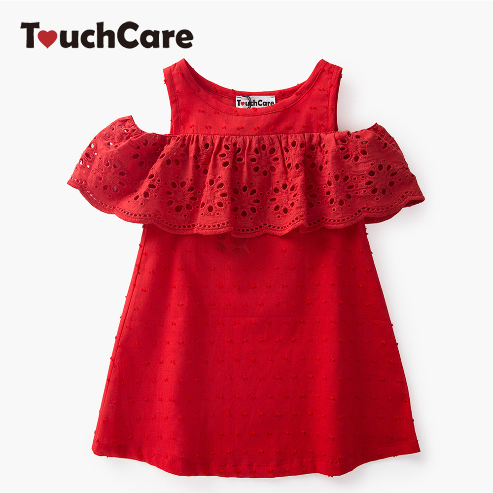 b923d4469 summer child clothes baby girl lace dress off the shoulder dresses ...