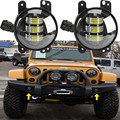 "2pcs 4x4 Off-road 4"" Inch 30W LED Fog Light For Jeep Wrangler JK CJ TJ Hummer High Power LED Fog Lamp Auto DRL Driving Light"