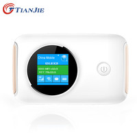 TIANJIE 4G Wifi Router Car Mobile Wifi Hotspot Wireless Broadband Mifi Unlocked Modem With Sim Card Slot