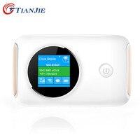 TIANJIE 4G Wifi Router Car Mobile Wifi Hotspot Wireless Broadband Mifi Unlocked Modem With Sim Card