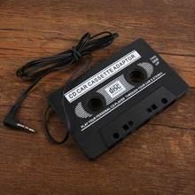 Автомобили аудио AUX кассеты автомобиля Клейкие ленты адаптер конвертер 3.5 мм для IPhone IPod MP3 CD dxy88