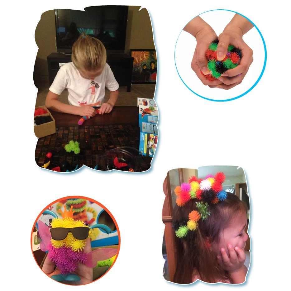 Kids 'Magic Puffer Bal 2018 Dier Assembleren Bouwsteen Speelgoed Set 400/1000 Stuks