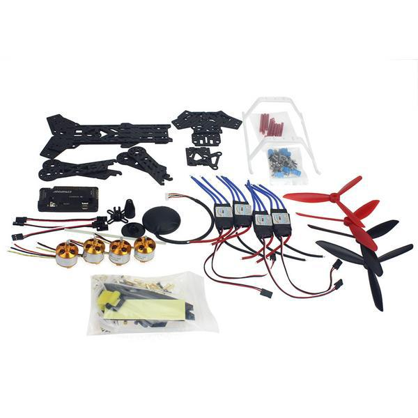 F11859 G RC Drone Quadrocopter Aircraft Kit 300H 300mm Frame 6M GPS APM 2 8 Flight
