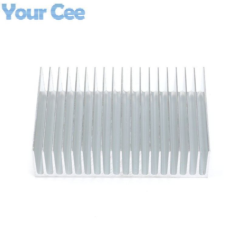Image 4 - 1 pc 182*120*44.5mm Heatsink Cooling Fin Aluminum Radiator Cooler Heat Sink for LED, Power IC Transistor, Module 182*120*44.5mm-in Integrated Circuits from Electronic Components & Supplies