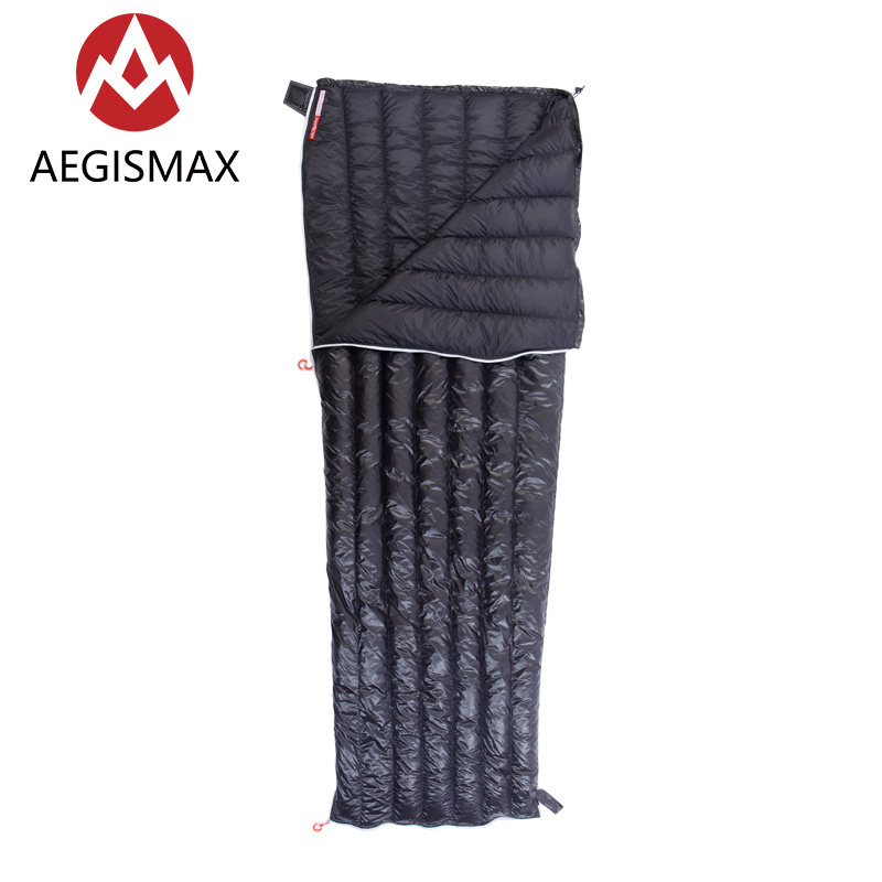 Genteel Aegismax Ultralight Envelope Sleeping Bag White Goose Down Camping Hiking Outdoor Sleeping Bags Ul Gear Camp Sleeping Gear