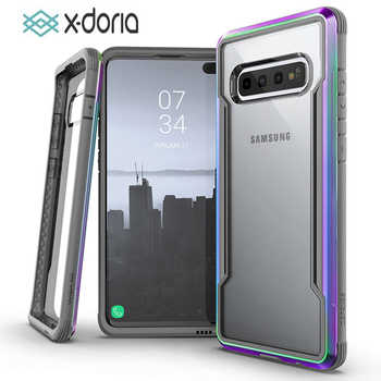 X-Doria Defense Shield Phone Case For Samsung Galaxy S10 Plus Military Grade Drop Tested Protective Case For S10e Aluminum Cover - DISCOUNT ITEM  14% OFF Cellphones & Telecommunications