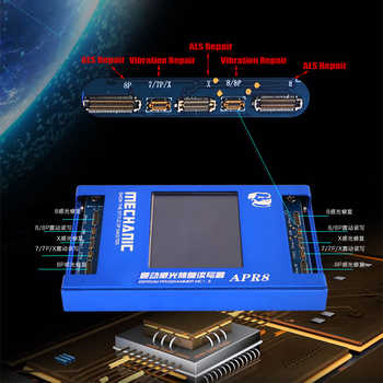 Newest Ambient Light Sensor LCD Screen EEPROM Programme Box for iPhone 8/8P/X Vibrate Code Read Write For iPhone 7/7P/8/8P/X