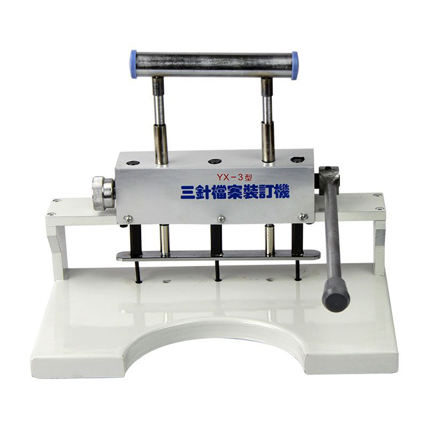 1PC manual Binding machine ,financial credentials, document,archives binding machine,30 mm heavy duty punch
