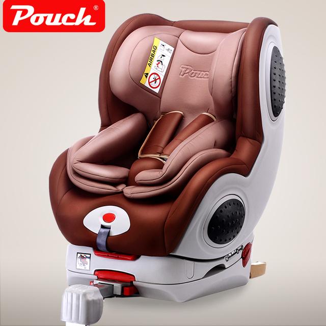 Pouch asiento de seguridad para niños 0-4 de dos vías del asiento de coche isofix 3c