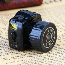 ET Y2000 мини Камера комплект Цифровая видеокамера микро DV DVR видео Регистраторы веб-камера с высокой четкостью малого пальца Камера с цепочкой для ключей Cam Камера s