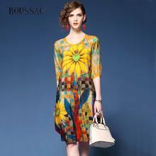 ccbdf22a1381b Buy dress women summer 2018 sunflower and get free shipping on ...